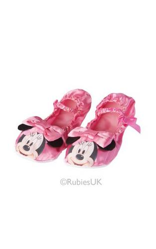 Minnie Mouse Pink Ballet Pumps Thumbnail 1