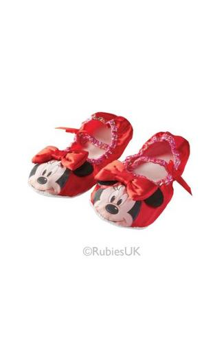 Minnie Mouse Red Ballet Pumps Thumbnail 1
