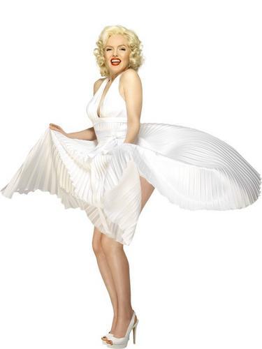 Marilyn Monroe Fancy Dress Costume Thumbnail 2