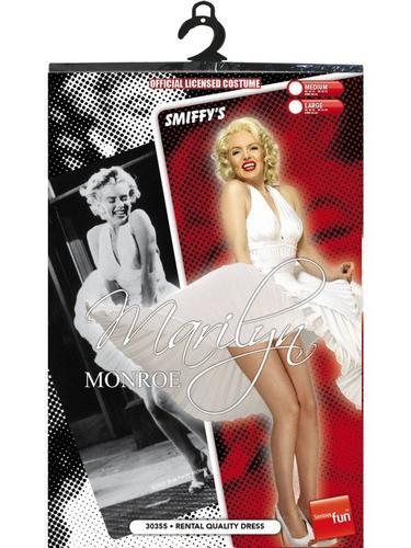 Marilyn Monroe Fancy Dress Costume Thumbnail 3