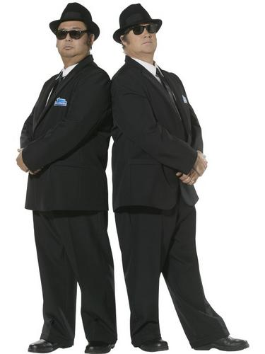 Blues Brothers Fancy Dress Costume Thumbnail 1