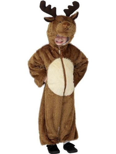 Reindeer Fancy Dress Costume Child Thumbnail 2