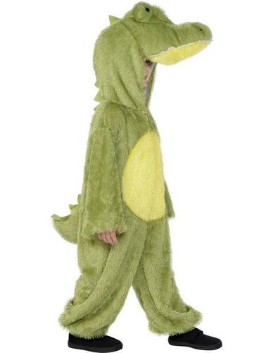 SALE Kids Animal Crocodile Girls Boys Book Week Fancy Dress Party Costume Thumbnail 1