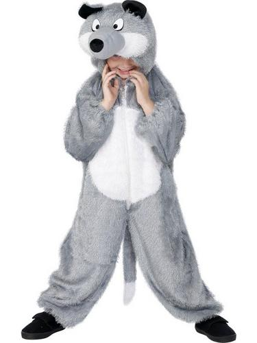 Wolf Fancy Dress Costume Childs Thumbnail 1