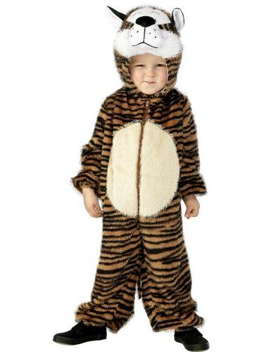 Tiger Fancy Dress Costume Child Thumbnail 1
