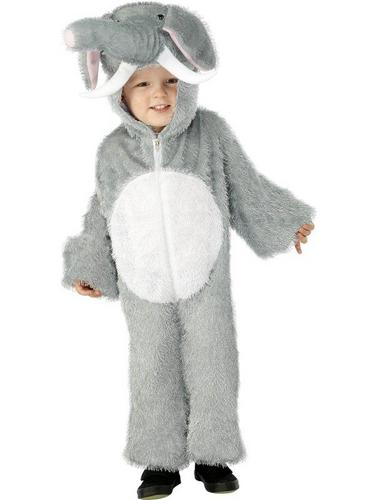 Elephant Fancy Dress Costume Child Thumbnail 1