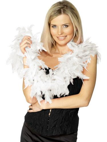 Bargain Feather Boa White Thumbnail 1