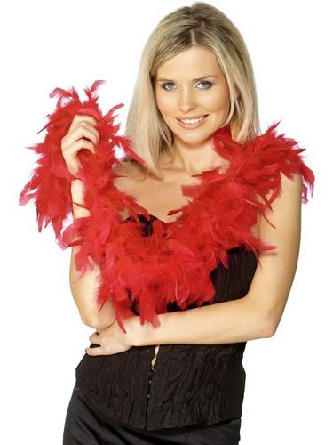 Bargain Feather Boa Red Thumbnail 1