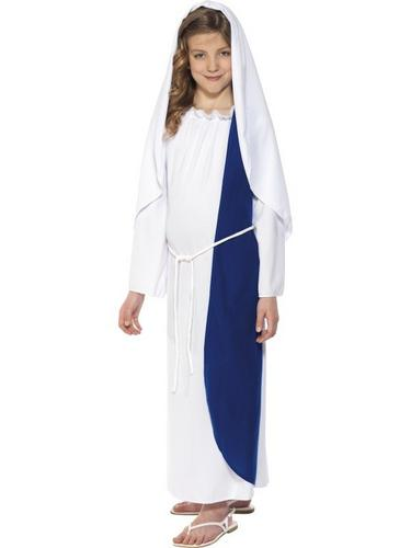 Kids Mary Fancy Dress Costume Thumbnail 1