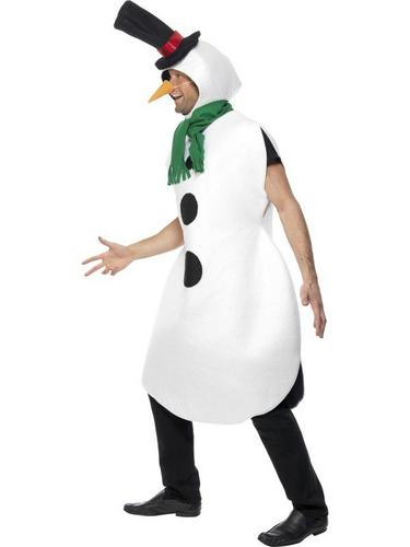 Gents Snowman Fancy Dress Costume Thumbnail 2