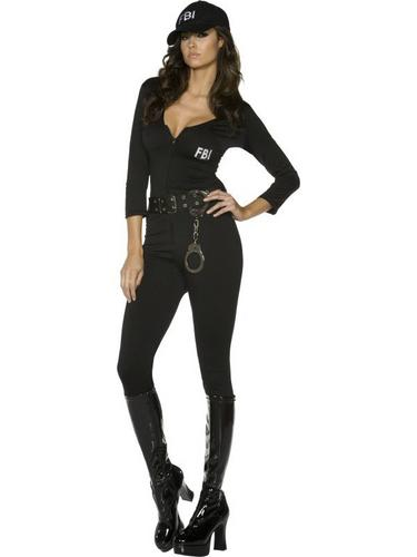 FBI Flirt Fancy Dress Costume Thumbnail 2