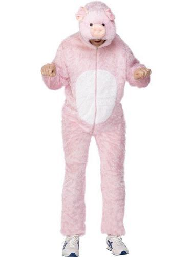 Pig Fancy Dress Costume Adult Thumbnail 1