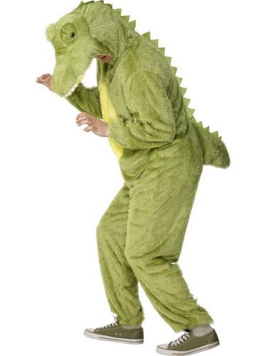 Crocodile Fancy Dress Costume Adult Thumbnail 1