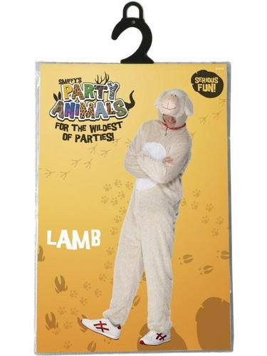 Lamb Fancy Dress Costume Adult Thumbnail 2
