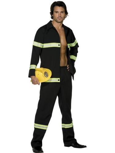 Fireman Fancy Dress Costume Thumbnail 1
