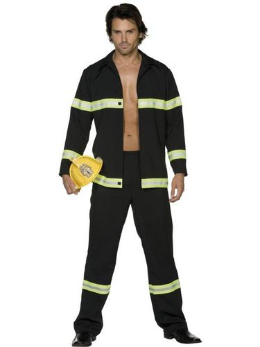 Fireman Fancy Dress Costume Thumbnail 2