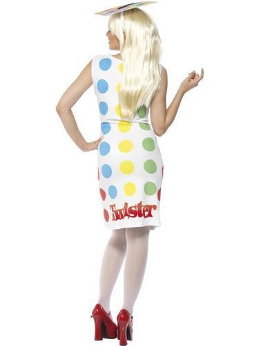 Female Twister Fancy Dress Costume Thumbnail 2