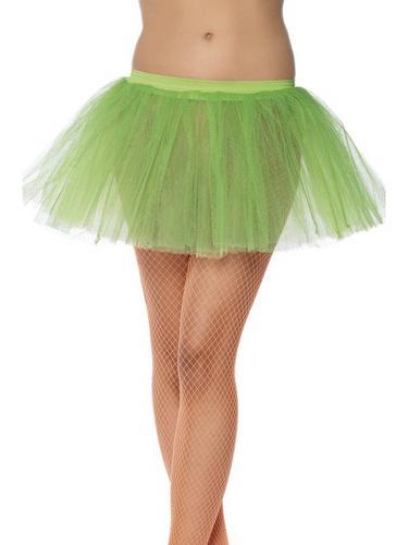 Tutu Underskirt Neon Green Thumbnail 1