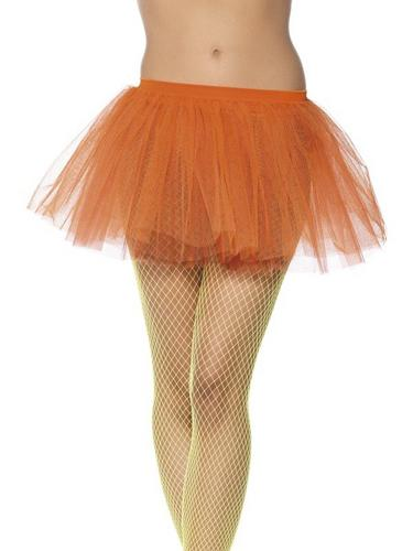 Tutu Underskirt Neon Orange Thumbnail 1