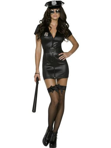 Sexy Cop Fancy Dress Costume Thumbnail 3