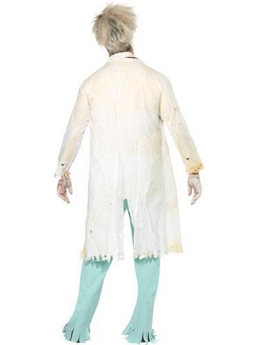 Zombie Doctor Fancy Dress Costume Thumbnail 2