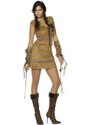 Pocahontas Fancy Dress Costume Thumbnail 1