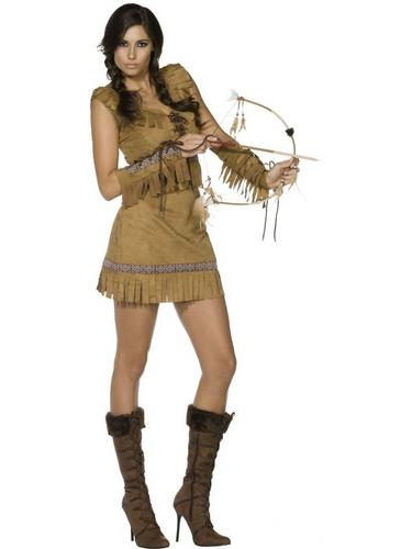 Pocahontas Fancy Dress Costume Thumbnail 2