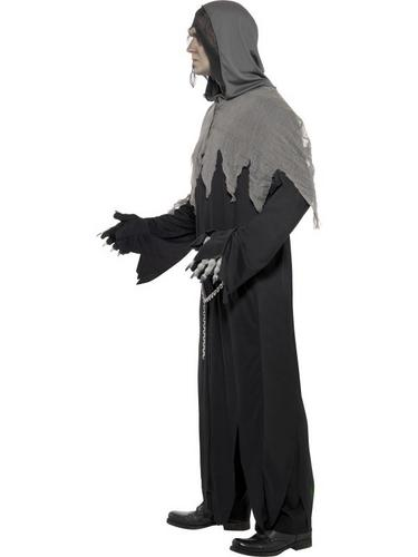 Grim Reaper Robe Fancy Dress Costume Thumbnail 3