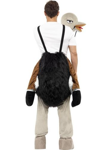 Ostrich Costume with Fake Hanging Legs Thumbnail 2