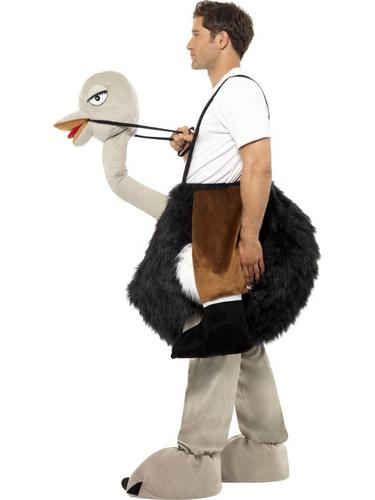 Ostrich Costume with Fake Hanging Legs Thumbnail 3