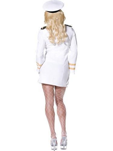 Top Gun Officer Fancy Dress Costume Thumbnail 3