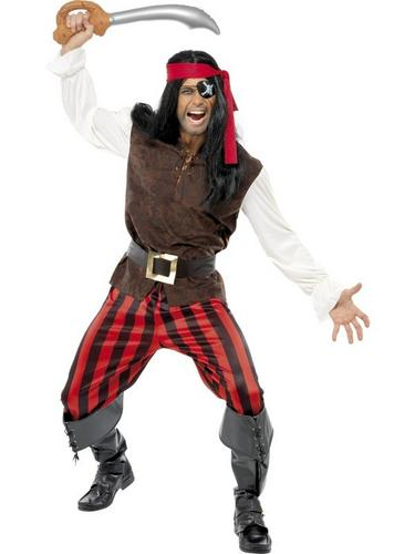 Pirate Ship Mate Fancy Dress Costume Thumbnail 1