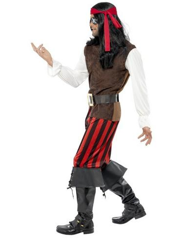 Pirate Ship Mate Fancy Dress Costume Thumbnail 3