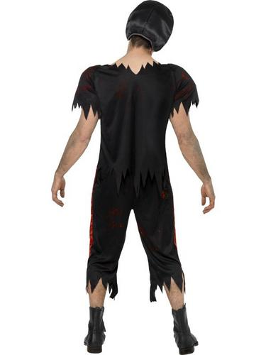 Zombie American Footballer Fancy Dress Costume Thumbnail 2