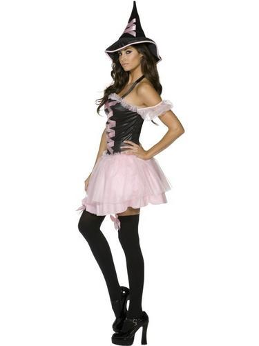 Pretty Witch Fancy Dress Costume Thumbnail 2