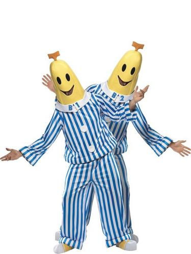 Bananas In Pajamas Fancy Dress Costume Thumbnail 1