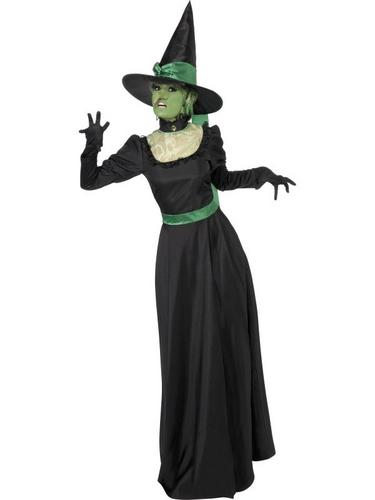 Wicked Witch Fancy Dress Costume Thumbnail 1