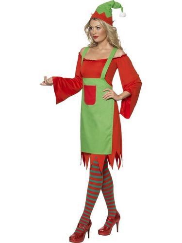 Cute Elf Fancy Dress Costume Thumbnail 3