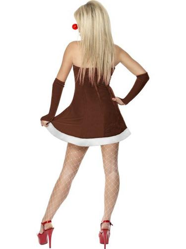 Red Hot Reindeer Fancy Dress Costume Thumbnail 3