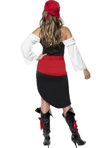Sassy Pirate Wench Fancy Dress Costume Thumbnail 2