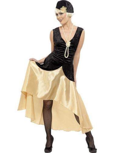 1920s Gatsby Girl Fancy Dress Costume Thumbnail 1