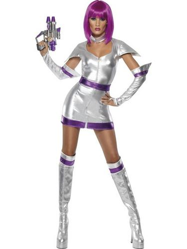 Space Cadet Fancy Dress Costume Thumbnail 1