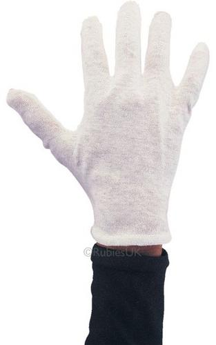 Cotton Gloves   White Thumbnail 1
