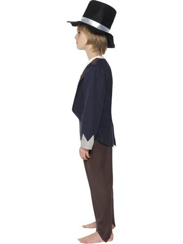 Victorian Poor Boy Fancy Dress Costume Thumbnail 3
