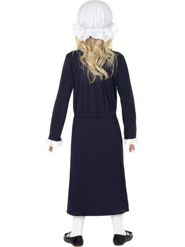 Victorian Poor Girl Fancy Dress Costume Thumbnail 2
