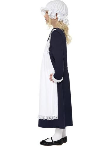 Victorian Poor Girl Fancy Dress Costume Thumbnail 3