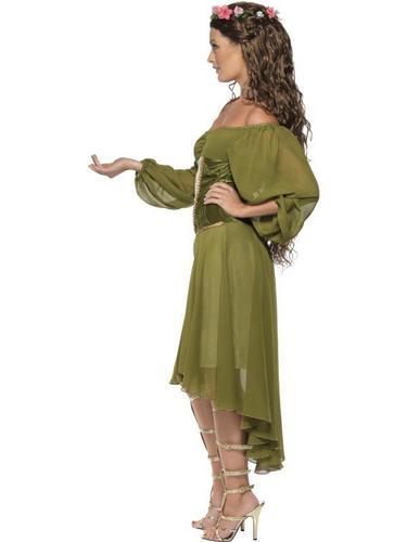 Fair Maiden Fancy Dress Costume Thumbnail 3