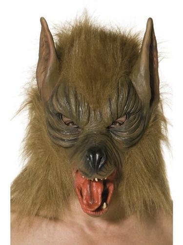 Overhead Wolf Fancy Dress Mask Thumbnail 1