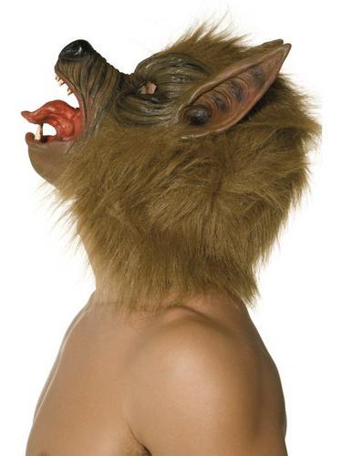 Overhead Wolf Fancy Dress Mask Thumbnail 2