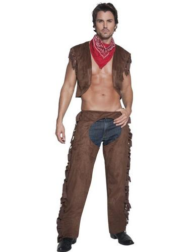 Ride Em High Cowboy Fancy Dress Costume Thumbnail 2
